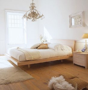 gorgeous bedroom in home protected by crazylegs pest control